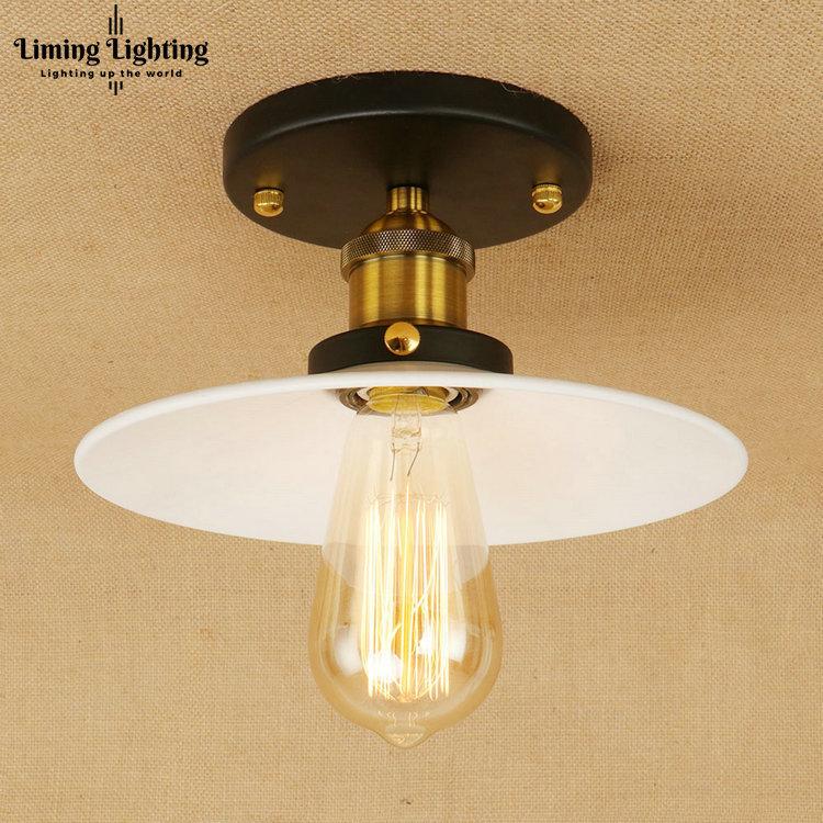 Vintage Industrial Loft Style Ceiling Fixtures Retro Lamp: Retro Edison Loft Style Iron Vintage Ceiling Light