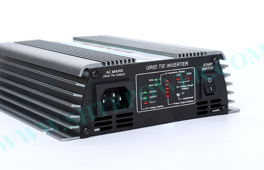 500W 22V-60VDC zu 240 V/230 V/220 V/120 V/110 V/100VAC auf Grid Solar Inverter