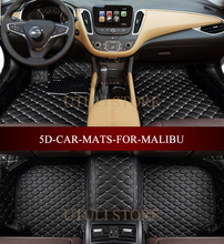 Esteras del piso del coche para Chevrolet Malibu 2012-2017 3D custom fit car styling all weather alfombra piso revestimientos de pie esteras