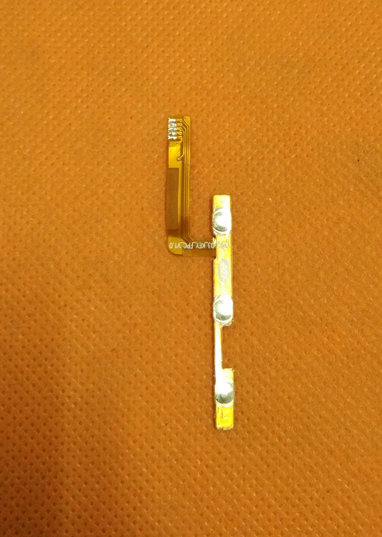 Used Original Power On Off Button Volume Key Flex Cable FPC for Bluboo Xfire 2 MTK6580 Quad Core 5.0 HD 1280x720 Free Shipping
