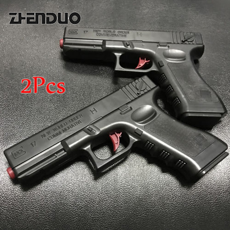 Zhenduo toys GLOCK Orbeez Gun Plastic Water Bullet Toy Gun Pistol Outdoor Fun Toy Guns Weapon For Nerf CS Game Children H