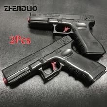 Zhenduo игрушки Глок пистолет orbeez пластик воды пуля игрушечный пистолет Открытый забавная игрушка пистолеты оружие для Nerf CS игры детей H