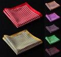 Hn21 Paisley pañuelo 100% de satén de seda Natural para hombre del pañuelo de moda banquete de boda Classic Pocket Square