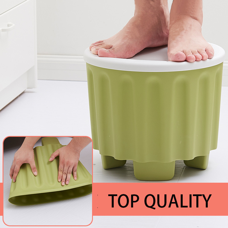 Modern Stool Solid ute Portable Plastics Folding Stool Cartoon Ottomans Outdoors Fishing Study Dinner Children Stool phfu cartoon animal children antiskid stool bathroom stool feet stool pink piggy