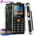Original Uhans V5 Waterproof Phone Dustproof Shockproof Dual Sim Card 2500Mah Battery GSM Big Speaker n Flashlight Outdoor Phone