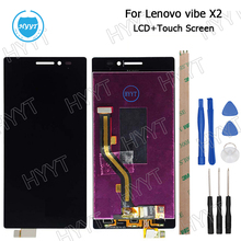 5.0inch For Lenovo Vibe X2 LCD Display and Touch Screen Assembly Repair Parts Mobile Accessories+Tools+Adhesive High Quality