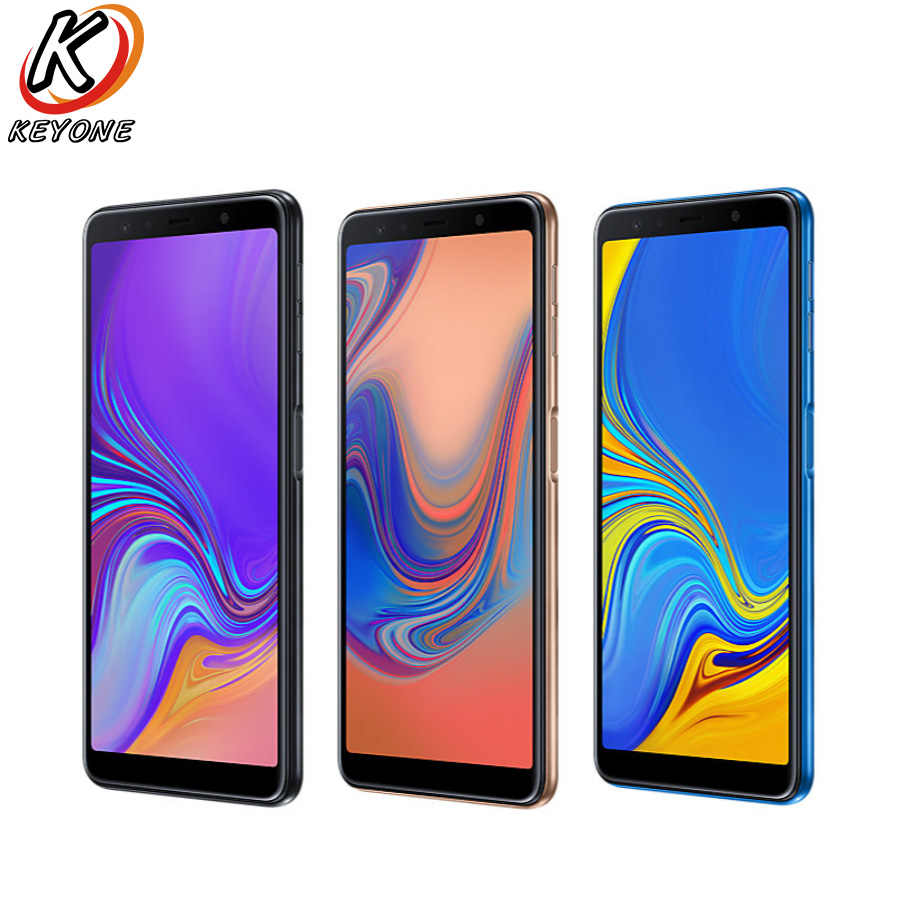 New Samsung Galaxy A7 A750F-DS 2018 4G LTE Mobile Phone 6 0