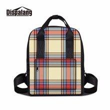Dispalang Лидер продаж Мумия стильный рюкзак многофункциональный Mama сумка Портативный Baby Путешествия Рюкзак Плед Дети школьный