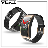VERI CK11C Bluetooth Smart Wristband Band Blood Pressure Heart Rate Monitor IP67 Waterproof Fitness Bracelet For