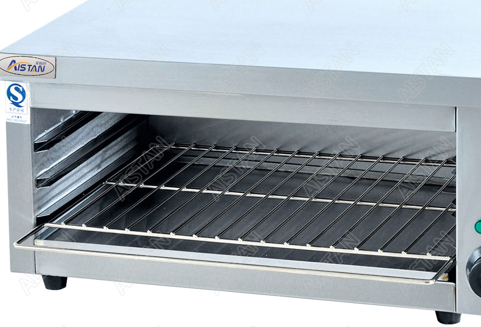 AT936 stainless steel electric hanging salamander for barbecue and kitchen equipment 7