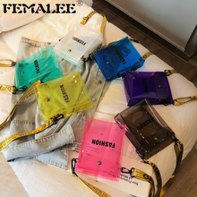 Women PVC 2019 New Fashion Jelly Flap Bag Fairy Transparent Cross Body