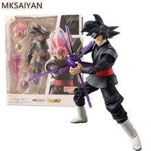 Super Dragon Ball Goku Preto Zamasu PVC Action Figure Brinquedos para Crianças Anime Dragon Ball Z Son Goku Brinquedos Estatueta boneca