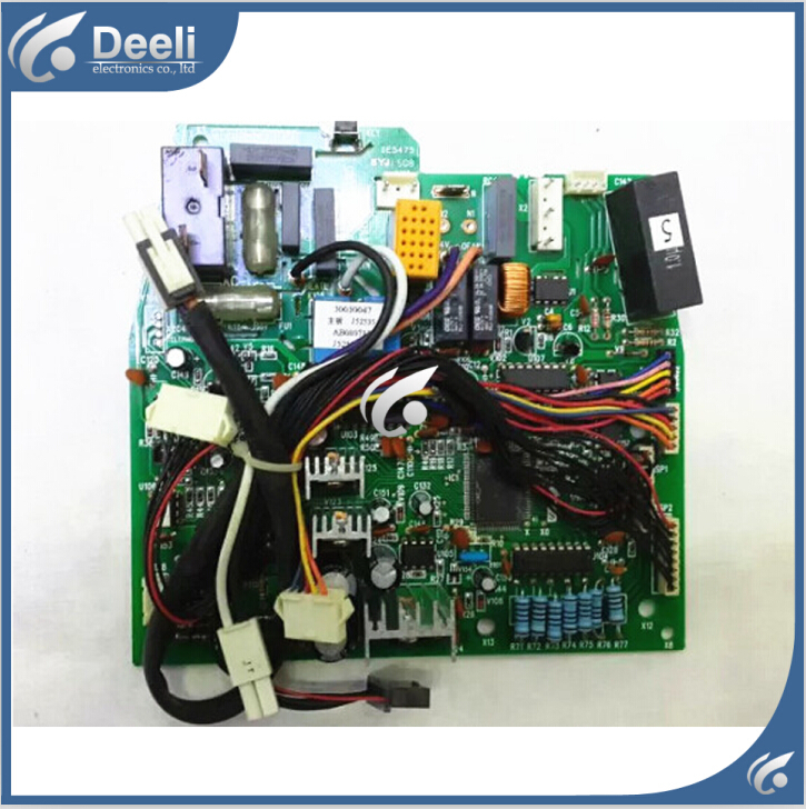 все цены на 95% new good working for air conditioner motherboard air conditioning accessories pc board j52535 30030047 on sale онлайн