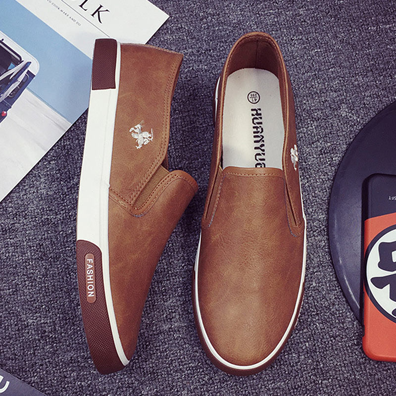 Summer Men Casual Shoes Loafers Breathable Flats Shoes Slip On Shallow Comfortable Zapatos Hombre Plus Size 39-45