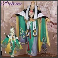 Onmyoji Game Cosplay SSR Yi Mulian Cosplay Costume Women Dress Uniforms Suits Halloween Costumes Kimono Top+Dress