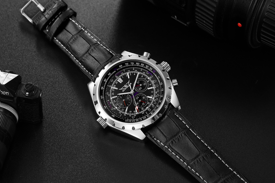 HTB1larCor1YBuNjSszeq6yblFXaF JARAGAR Top Luxury Brand Men Watch Mens Fashion Mechanical Watches Man Casual Business Waterproof Wristwatch Relogio Masculino