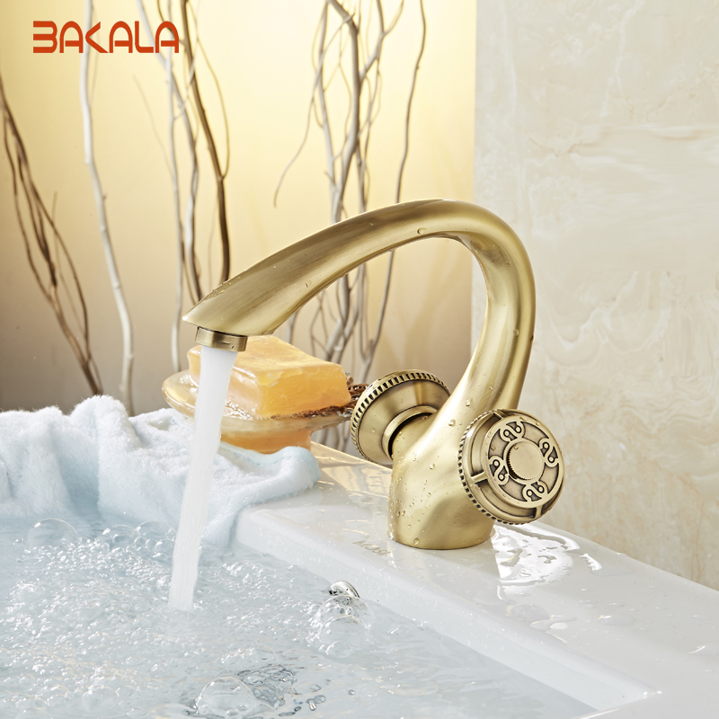 Single Lever Hole Retro Faucet