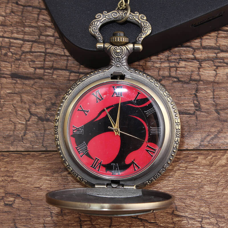 Vintage Retro Game Of Thrones Leopard Pocket Watch Chains Necklace Quartz Fob Watches Steampunk Pendant For Men Gifts Reloj