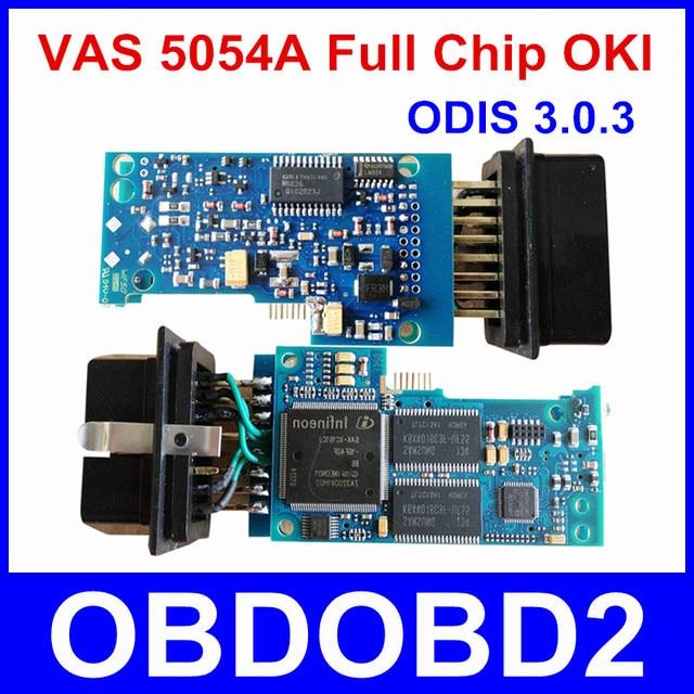 Последним VAS 5054A С OKI Чип VAS5054A Bluetooth ОДИС 3.0.3 Для VW/AUDI/SKODA/SEAT VAS 5054 полный Чип Поддержка UDS Протоколов