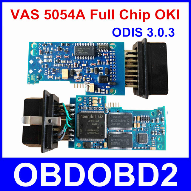 Newest VAS 5054A With OKI Chip VAS5054A Bluetooth ODIS 3.0.3 For VW/AUDI/SKODA/SEAT VAS 5054 Full Chip Support UDS Protocols