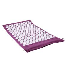 Carpet Mat for Acupressure Acupuncture Yoga Massage + Carry Bag purple