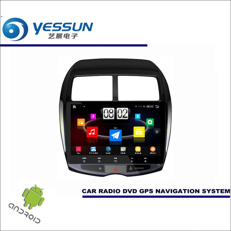yessun car android player multimedia for mitsubishi asx rvr outlander sport radio stereo gps. Black Bedroom Furniture Sets. Home Design Ideas