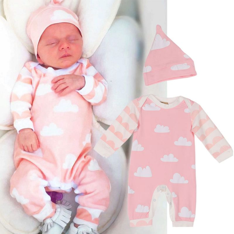 Newborn Baby Rompers Cute Jumpsuit Boy Clothing Unisex Baby Costume Infant Long Sleeve Jumpsuits Baby Girls Clothes 2017 unisex baby boys girls clothes long sleeve polka dot print winter baby rompers newborn baby clothing jumpsuits rompers 0 24m