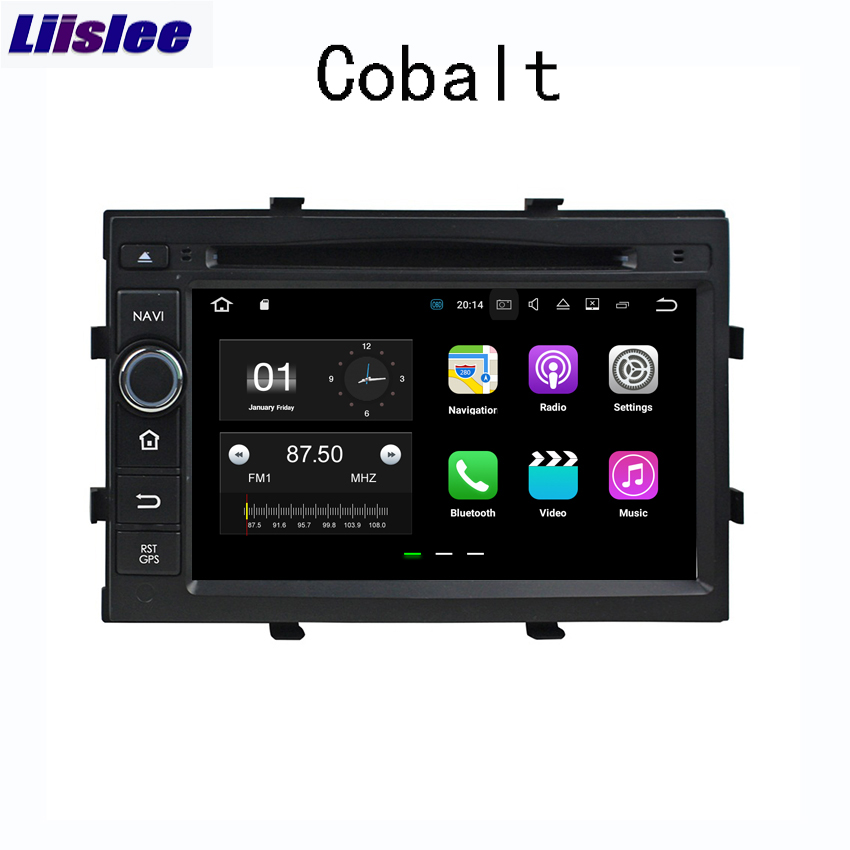 Liislee 2 din Android автомобильный навигатор gps для Chevrolet Cobalt 2012 ~ 2018 Радио стерео Мультимедиа большой экран плеер Bluetooth