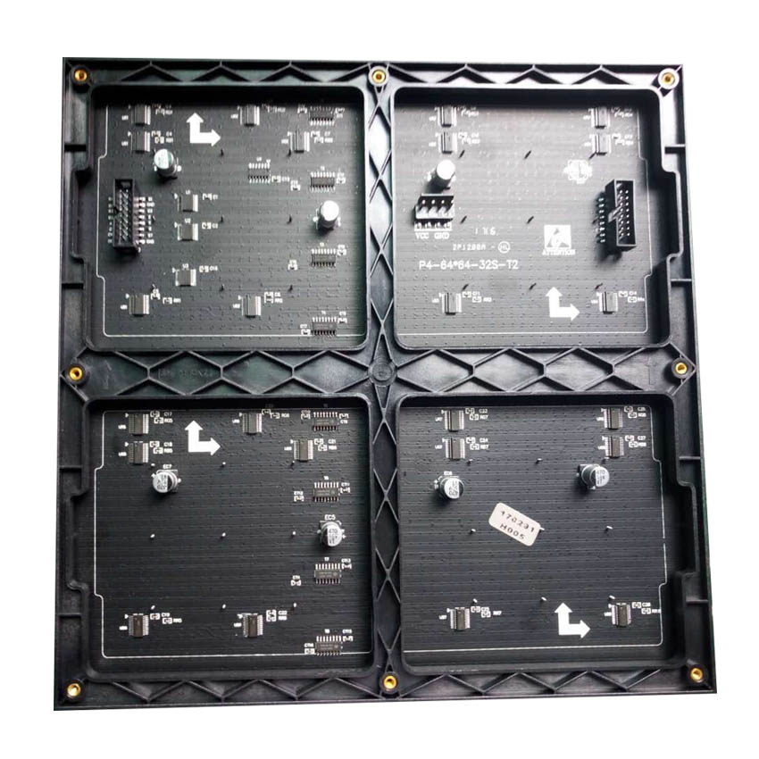 P7.62 SMD Indoor Led Module 488x244mm 64x32pixel 1/16scan For Full Color Video Wall Advertising