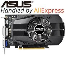 ASUS GTX بطاقة الفيديو الأصلي 750Ti 2 جيجابايت 128Bit GDDR5 بطاقات الرسومات ل nVIDIA غيفورسي GTX750Ti تستخدم بطاقات Vga Hdmi dvi على بيع