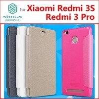 Xiaomi redmi 3 S чехол redmi 3 pro 3 S чехол Nillkin кожаный чехол для xiaomi redmi 3 S Prime 3 Pro 3 S