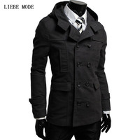 Hot Sale 2016 New Fashion Brand Hooded Blazer Men Casual Suit Jacket Men Slim Fit Suits