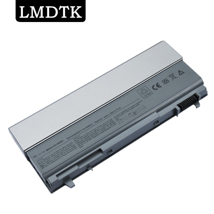 LMDTK New 12cells laptop battery FOR DELL Latitude E6400E6500 E8400 <font><b>E6410</b></font> E6510 FU274 FU571 MN632 MP303 PT434 free shipping image