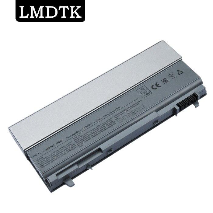 LMDTK Nouveau 12 cellules batterie d'ordinateur portable POUR DELL Latitude E6400E6500 E8400 E6410 E6510 FU274 FU571 MN632 MP303 PT434 livraison gratuite