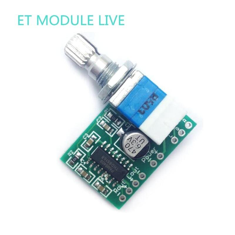 PAM8403 Мини 5 V цифровой усилитель доска с потенциометра переключателя может быть USB powered