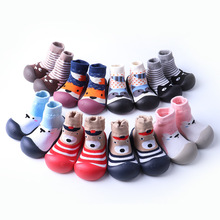 2019 Cotton Spring and Autumn Baby Shoes Cartoons Anti-slip Babe Floor Socks Toddler Girl Shoes Baby Socks Children Kids Shoes 2019 cotton spring and autumn baby shoes cartoons anti slip babe floor socks toddler girl shoes baby socks children kids shoes