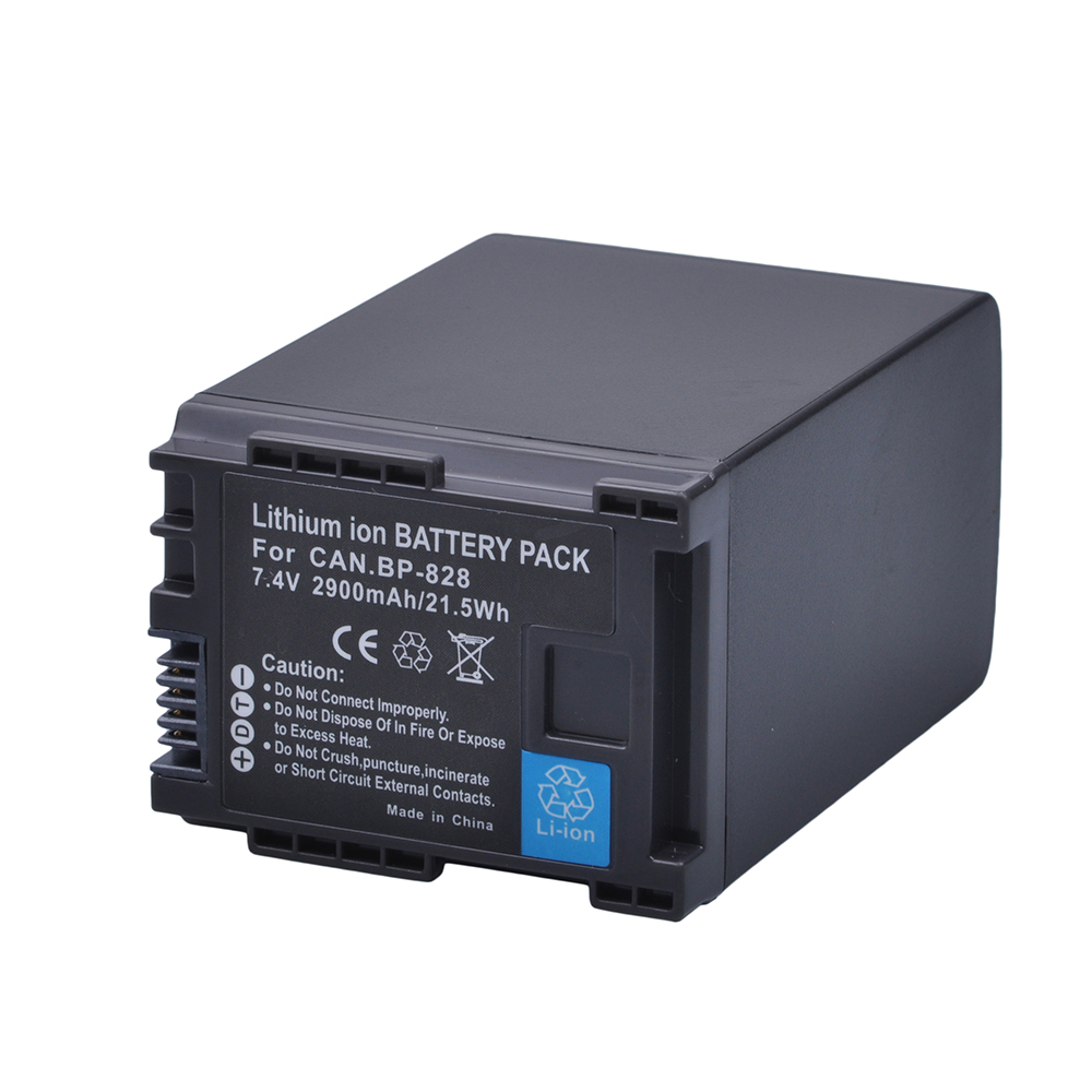 1Pc 2900mAh BP-828 BP 828 BP828 Camera Battery for Canon HFS30 HF20 HG20 G30 G40 XA20 XA25 HFM300 HFM30 HFG30 HFG10 HFM40