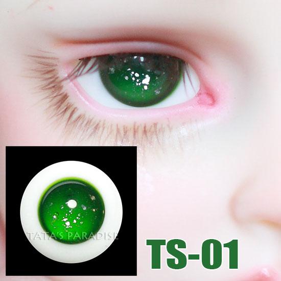 1 3 1 4 1 6 BJD Eyes 14mm 16mm green Eyeballs for SD MSD YSD