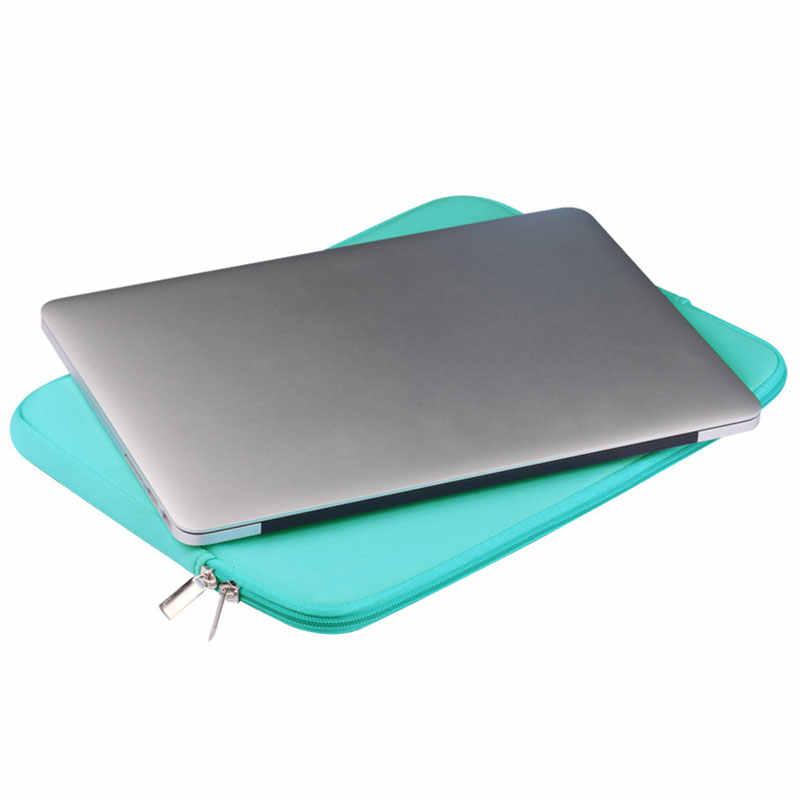 Macbook の空気プロ網膜 11 12 13 14 15 インチのラップトップソフトスリーブ Pc タブレットケースカバー xiaomi 空気の Hp 、 Dell