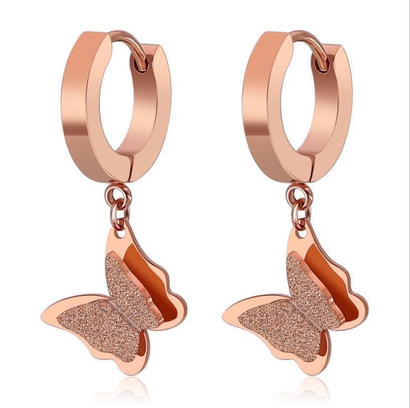 Butterfly Clip on Earrrings