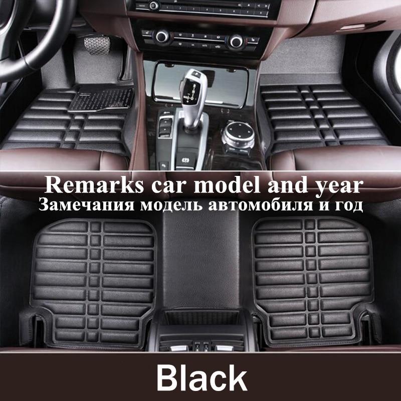 Carpet Custom Car Floor Mats For SKODA OCTAVIA KODIAQ SUPERB PAPID YETI FABIA Car Accessories Shoe