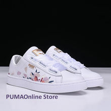 2018 Original Women's Puma Baket Heart Velvet Sneakers Runner Badminton Shoes Size EUR35-39(China)