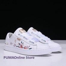 2018 Original Women s Puma Baket Heart Velvet Sneakers Runner Badminton  Shoes Size EUR35-39( 10b8bc2b9