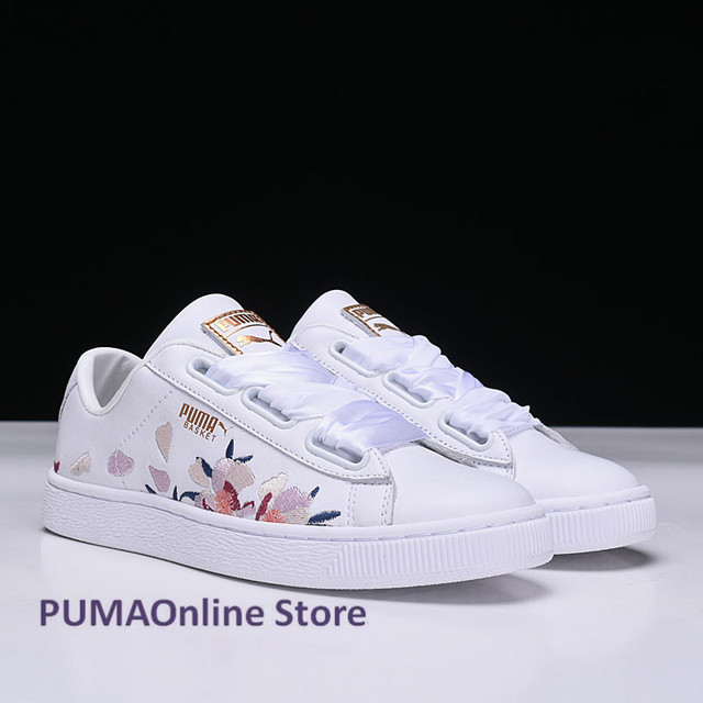 2018 Original Women s Puma Baket Heart Velvet Sneakers Runner Badminton  Shoes Size EUR35-39 d4092d6f3