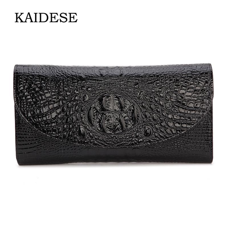 KAIDESE 2017 new fashion handbag real leather alligator with a bag link with a single shoulder slanting bag kaidese summer new sheepskin bag slanted shoulder slanting and female