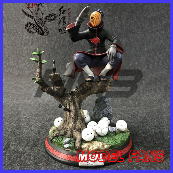 MODEL FANS IN-STOCK 34cm NARUTO Tobi Uchiha Obito gk resin statue for Collection дефлекторы окон накладные azard voron glass corsar kia sportage ii 2004 2010 кроссовер