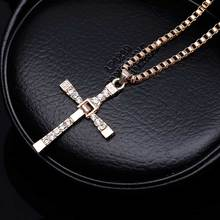 Fast and Furious Cross Necklace Pendant
