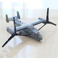 1/144 Scale Boeing Bell Osprey V22 Helicopter Aircraft Airplane Models Adult Children Toys Gifts for Display Show Collections