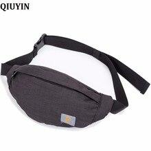 QIUYIN  2019 Sequins Shoulder Messenger Chest Bag Waist Women Fanny Packs Belt Bags Luxury Fashion