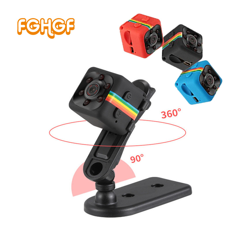 SQ11 Mini Camera HD 1080P Camcorder Car DVR Infrared Video Recorder Sport Digital Camera Support TF Card DV Camera PK SQ 11 SQ9
